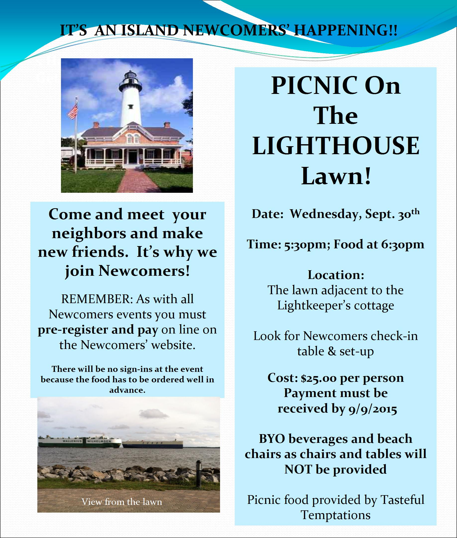Newcomers-Lighthouse Picnic-revised--9-14