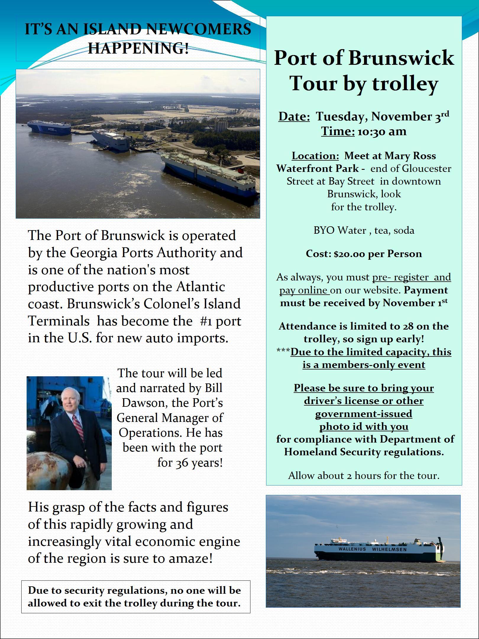 GST - Port Tour #2
