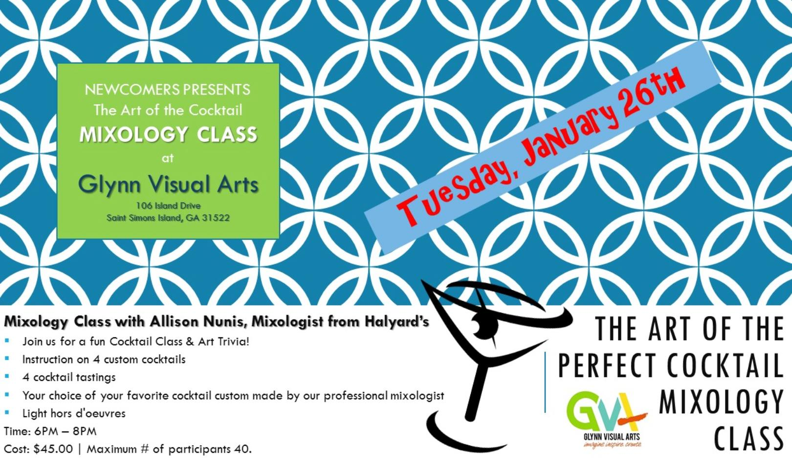 Glynn Arts Newcomers Event