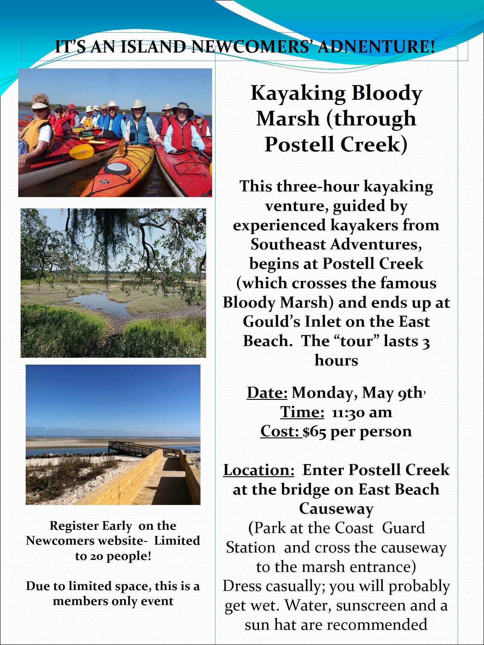 GST - Kayaking Flyer