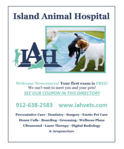 Island Animal Hospital Quarter Page.indd